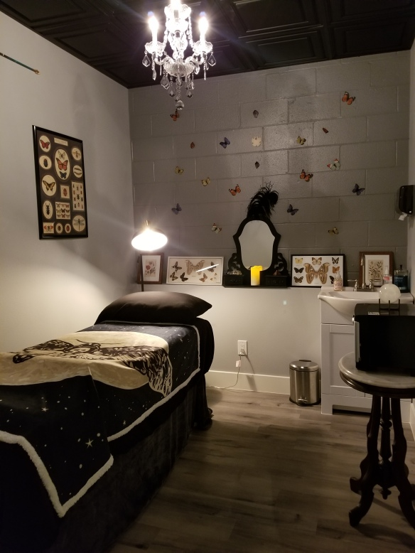 The Mystery Room inside Feetish Spa Parlor at New Orleans Square in Las Vegas, Nevada